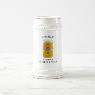 official german drinking team mug