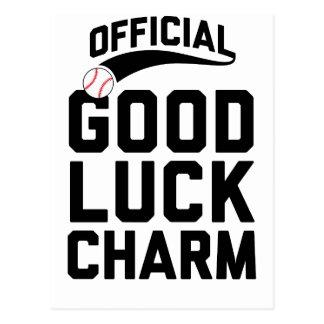 Official Good Luck Charm Postcard