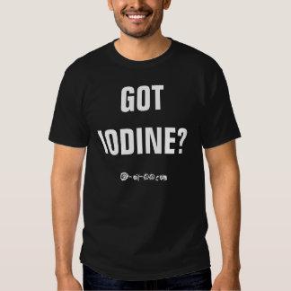 """Official """"Got Iodine?"""" Shirt"""