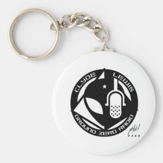 Official Ground Zero Products! Basic Round Button Key Ring