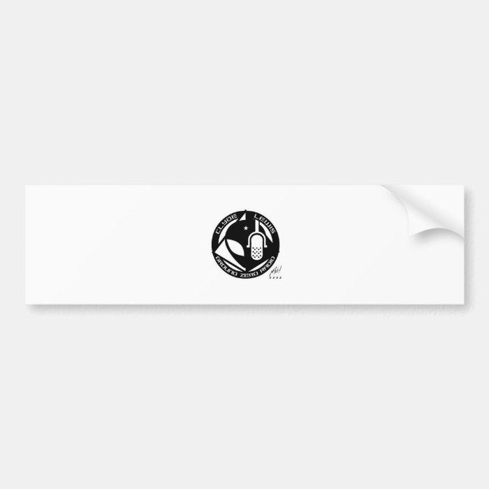 Official Ground Zero Products! Bumper Sticker
