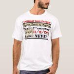 Official Gun Permit! T-Shirt