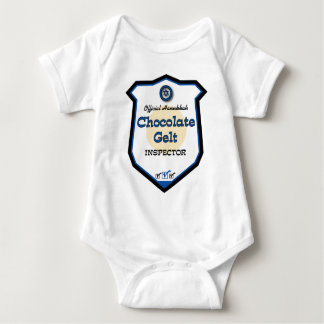 Official Hanukkah Chocolate Gelt Inspector Baby Bodysuit