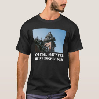 Official Haunted House Inspector shirt