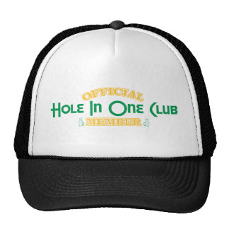 Official Hole In One Club Member Hats
