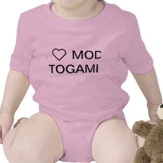 OFFICIAL I <3 MOD TOGAMI BABY BODYSUIT