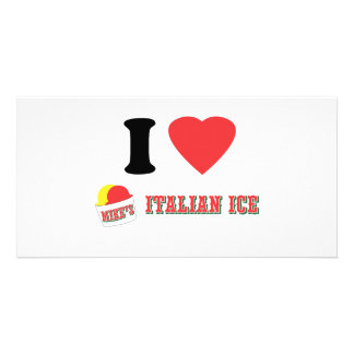 "Official ""I LOVE MIKE'S ITALIAN ICE"" Brand Picture Card"