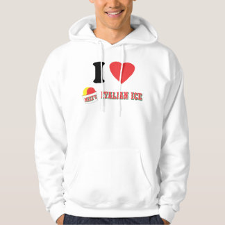 "Official ""I LOVE MIKE'S ITALIAN ICE"" HOODIE! (W) Hoodie"