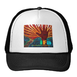 "Official ""IFA"" (Int'l Fine Artist's Flag) Hat"