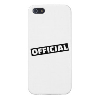 Official iPhone 5/5S Cover