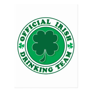 Official-Iris-Drinking-Team Postcard