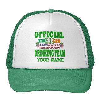 Official   Irish American drinking team Cap