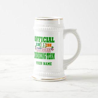 Official   Irish American drinking team 18 Oz Beer Stein