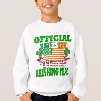 Official Irish American drinking team Sweatshirt