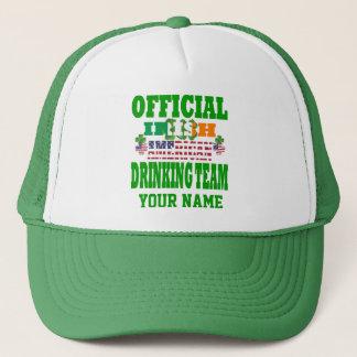 Official   Irish American drinking team Trucker Hat