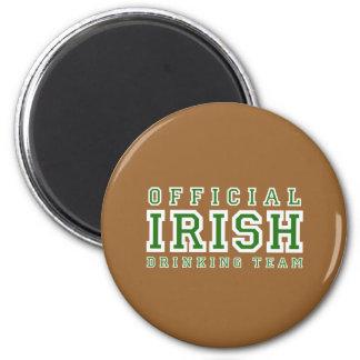 Official Irish Drinking Team Refrigerator Magnet