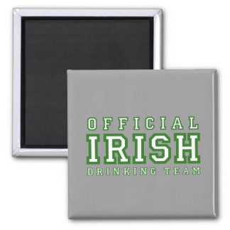 Official Irish Drinking Team Square Magnet