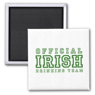 Official Irish Drinking Team Refrigerator Magnets