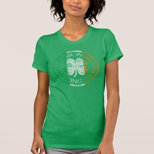 Official Irish Pride Drinking Team T Shirt