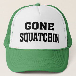 Official James Bobo Fay Gone Squatchin trucker hat