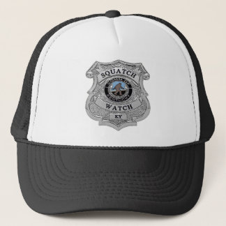Official Kentucky Squatch Watch Badge Trucker Hat