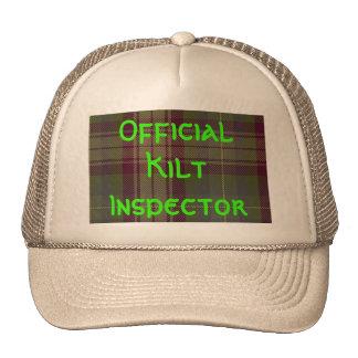 """""""Official Kilt Inspector"""" Trucker Hat"""