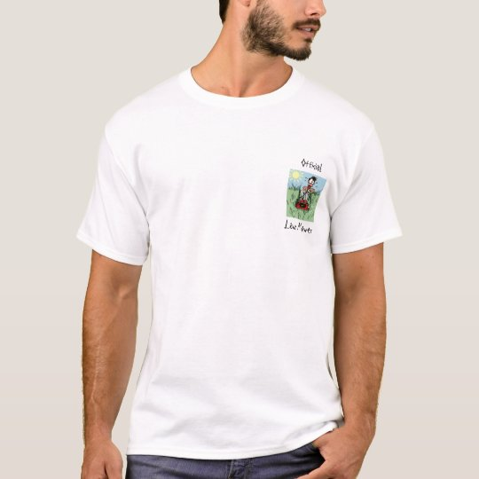 Official Lawn Mower T-Shirt