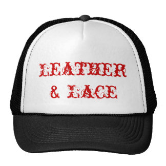 Official Leather & Lace 'Black' Trucker Hat