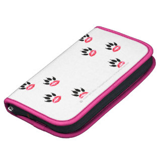 Official Lipstick-Pawprint SmartPhone Folio Folio Planners