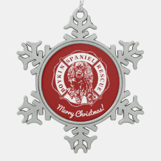 Official Logo Pewter Ornament - Red