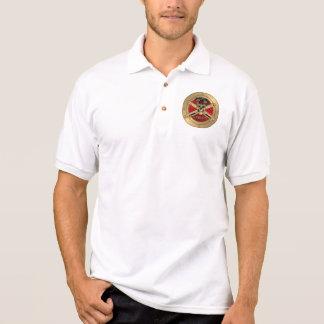 Official Logo Redleg - FA Enlisted Alumni Polo T-shirts