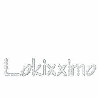 "Official ""Lokixximo"" Mens Fleece Sweater Track Jacket"