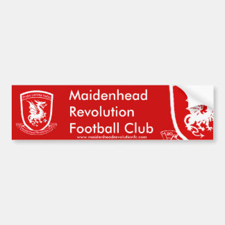 Official Maidenhead Revolution FC Bumper Sticker