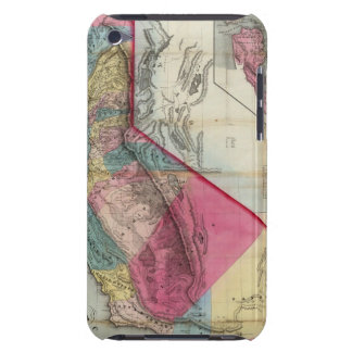 Official map of the State of California iPod Case-Mate Cases