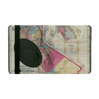 Official map of the State of California iPad Case