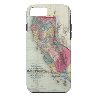 Official map of the State of California iPhone 8/7 Case