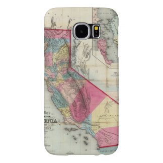 Official map of the State of California Samsung Galaxy S6 Cases