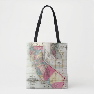 Official map of the State of California Tote Bag