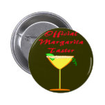 Official Margarita Taster  T-Shirts & Gifts 6 Cm Round Badge