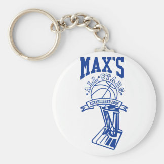 Official Max's All Stars Keychain