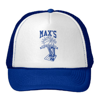Official Max's All Stars Trucker Hat
