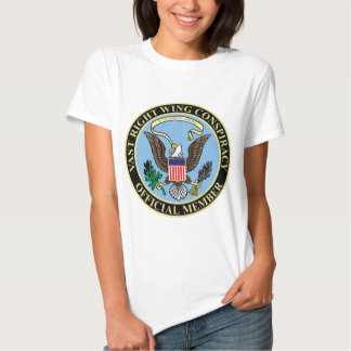 Official Member of The Vast Right Wing Conspiracy Tshirts