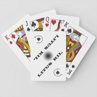 Official nonBicycle Litus Thousands shuffles Poker Deck