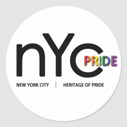 Official NYC Pride Sticker