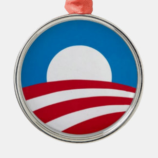 Official Obama campaign logo Christmas Ornament
