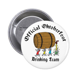 Official Oktoberfest Drinking Team Buttons