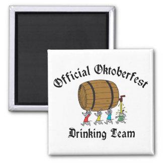 Official Oktoberfest Drinking Team Magnet