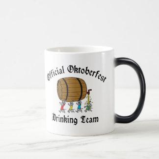 Official Oktoberfest Drinking Team Morphing Mug