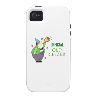 OFFICIAL OLD GEEZER iPhone 4 CASES