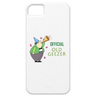 OFFICIAL OLD GEEZER iPhone 5 COVERS